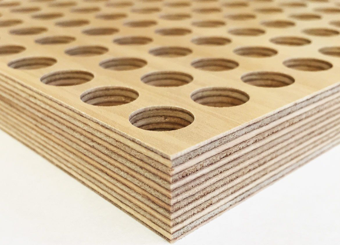 Pros only quality plywood and acoustic panel will provide for your project